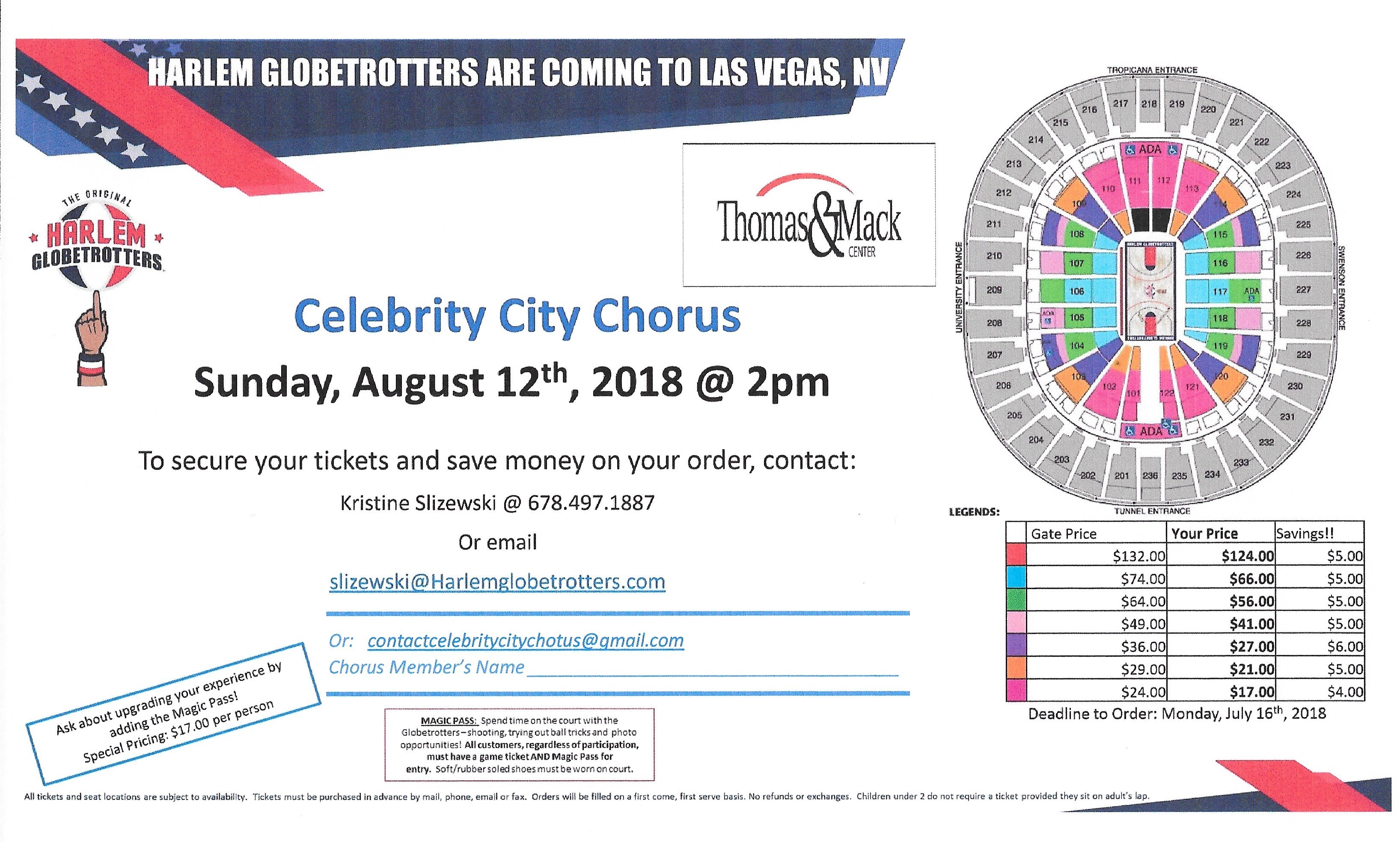 Celebrity City Chorus, Las Vegas NV - Singing | Hotfrog US